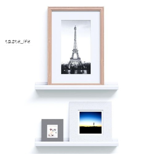 Awe Inspiring Details About Us Home Floating Picture Shelving Diy Ledge Photo Frame Wall Shelf Display Mount Home Interior And Landscaping Dextoversignezvosmurscom