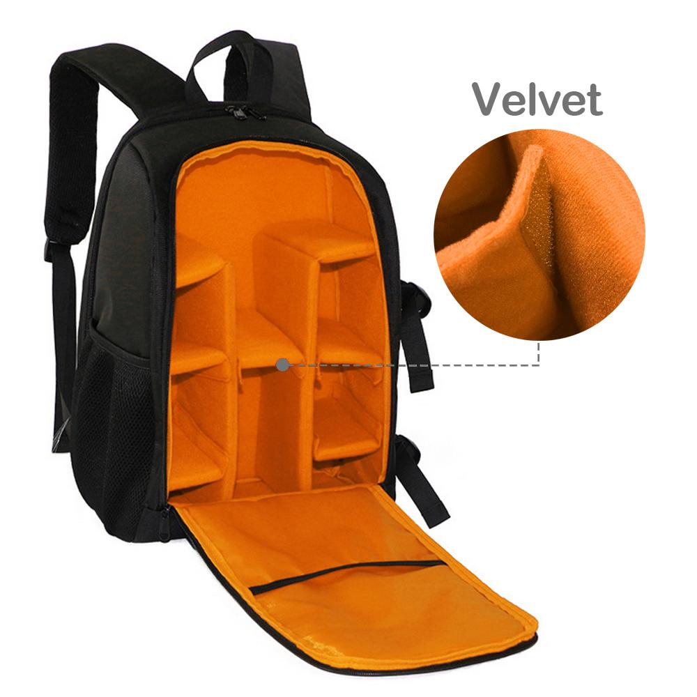 Large DSLR Waterproof Camera Backpack Bag Case DIY For ...