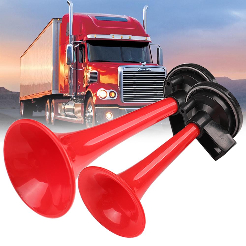 High 178DB Ultra Loud Dual Trumpet Air Horn Compressor For Car Truck Train Boat