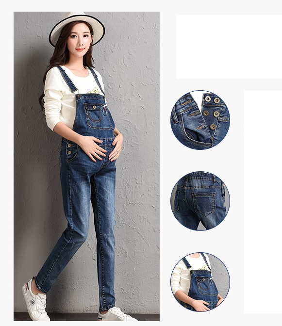 60f4dcacc91 Skinny Jumpsuits Dungarees Jeans Denim Trousers Slim Pants 6 8 10 12 14 16  18