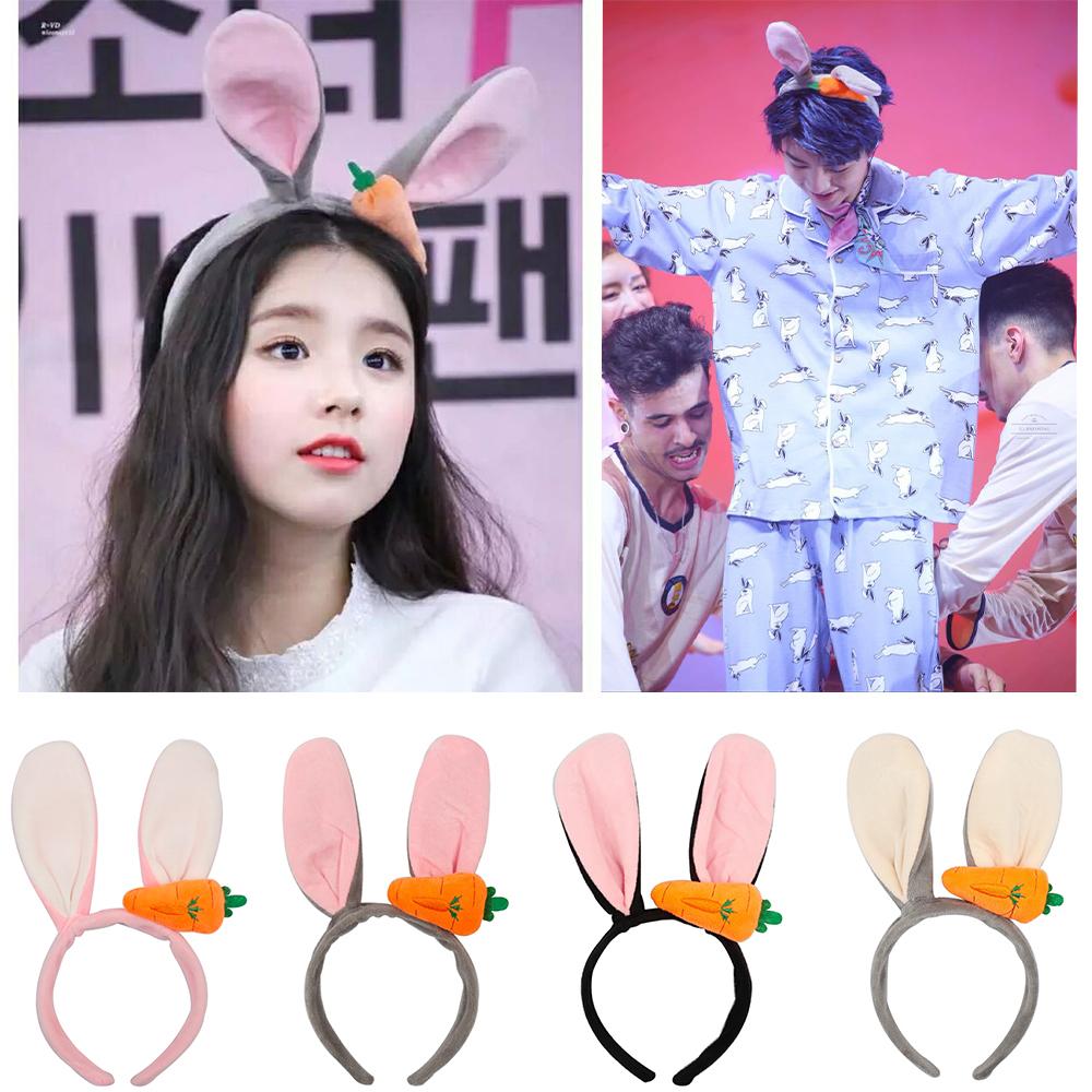 Lovely Rabbit Ears Carrot Hair Clips Kids Headwear Cute Novelty Hairpin Lot