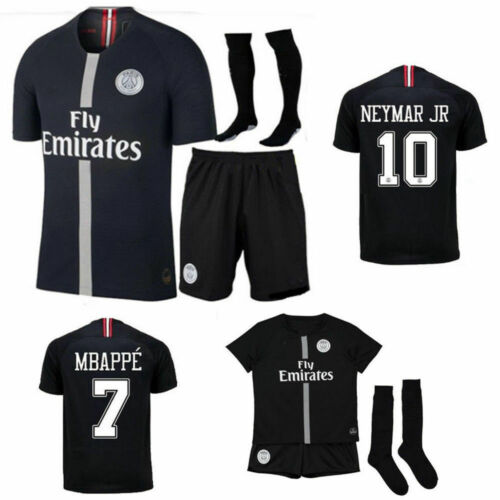 Kids' Clothes, Shoes & Accs. Sportswear 18/19 Boys Kids Football Team Outfit Soccer Kit Jerseys Short Sleeve Shirt Socks