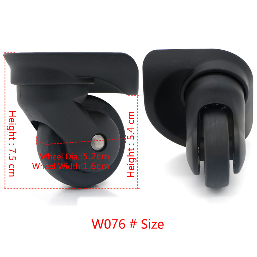 Replacement Suitcase Wheels Removable Spinner Luggage