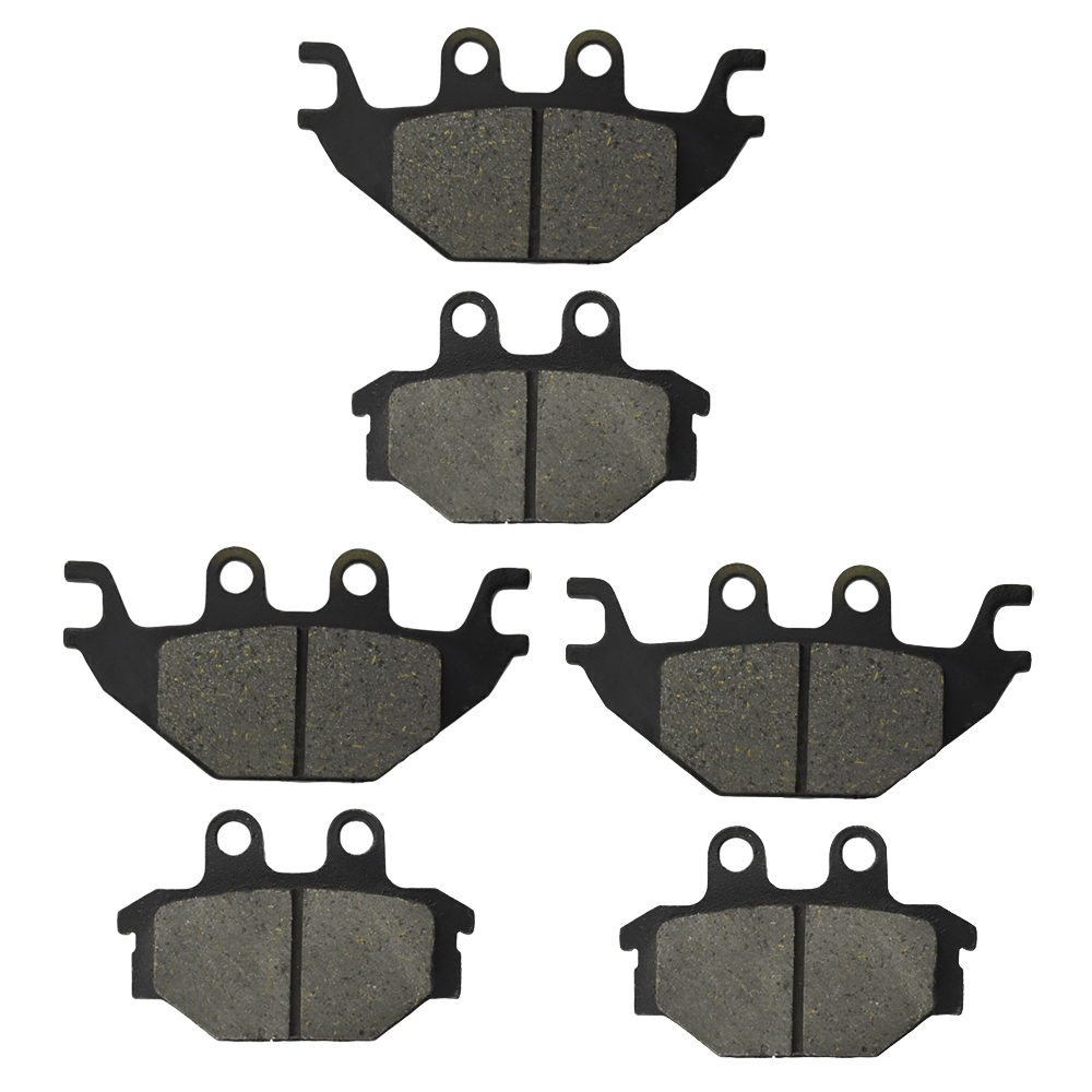 Rear Brake Pads For Arctic Cat Utility 250 2X4 2005-2009 4X4 2005 2008