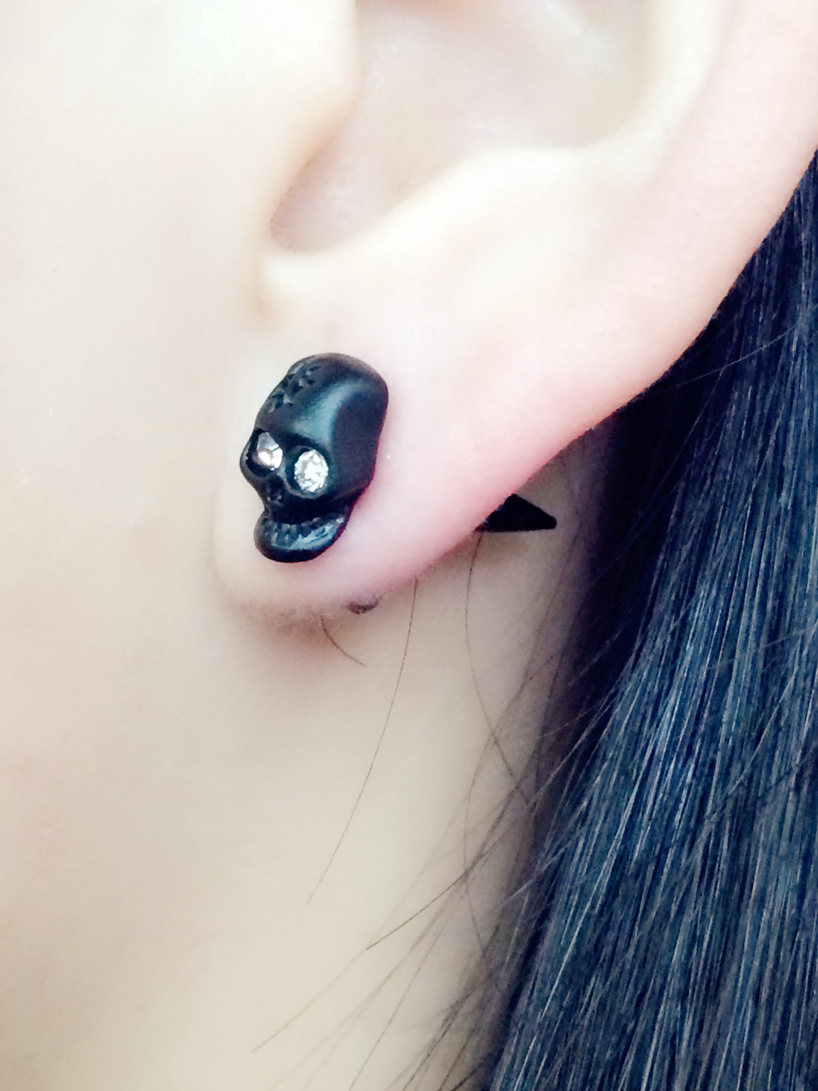 Uk Cute 3d Animal Earrings Stereoscopic Cat Fox Polymer