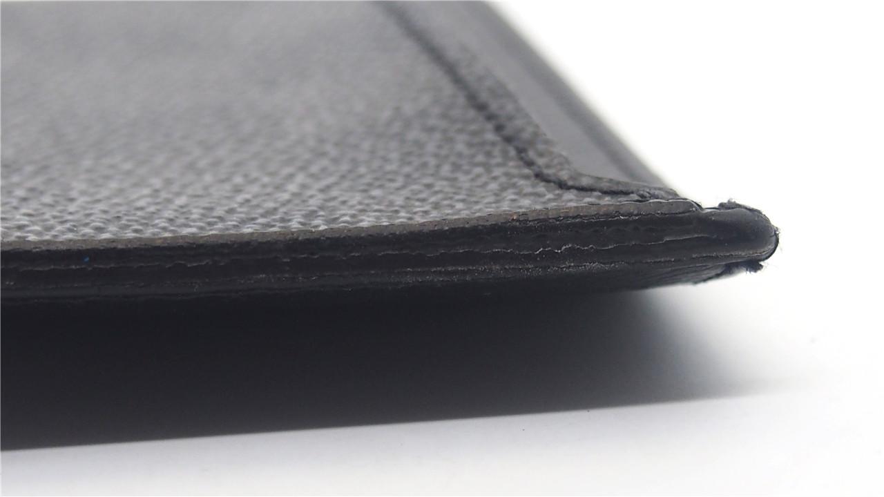 637fda906ab50c Authentic LOUIS VUITTON Damier Graphite Neo Porte Cartes Card Holder ...