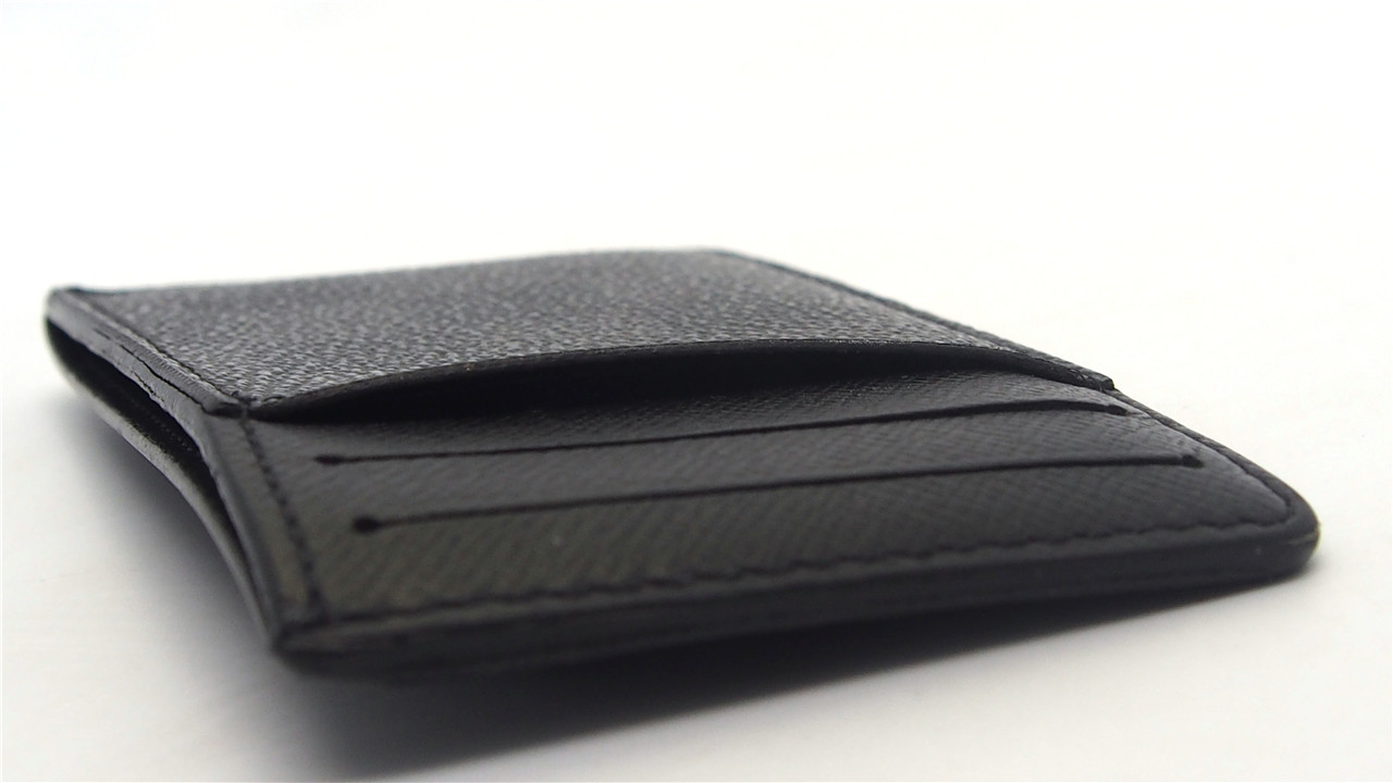 928617ad7cf62a Authentic LOUIS VUITTON Damier Graphite Neo Porte Cartes Card Holder N62666