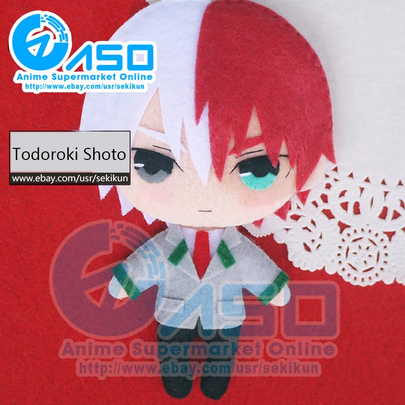 Anime Boku no Hero Academia My Hero todoroki shouto handmade Toy ...
