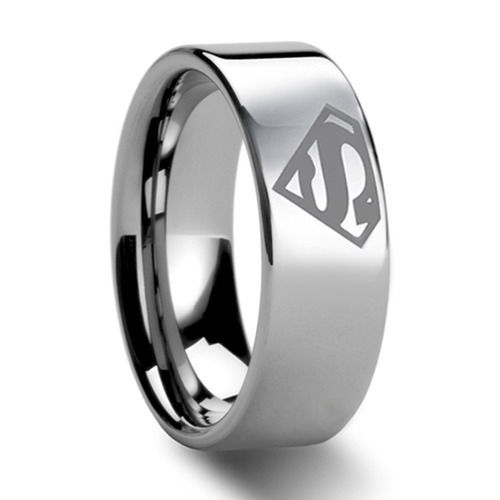 Superman Wedding Band eBay