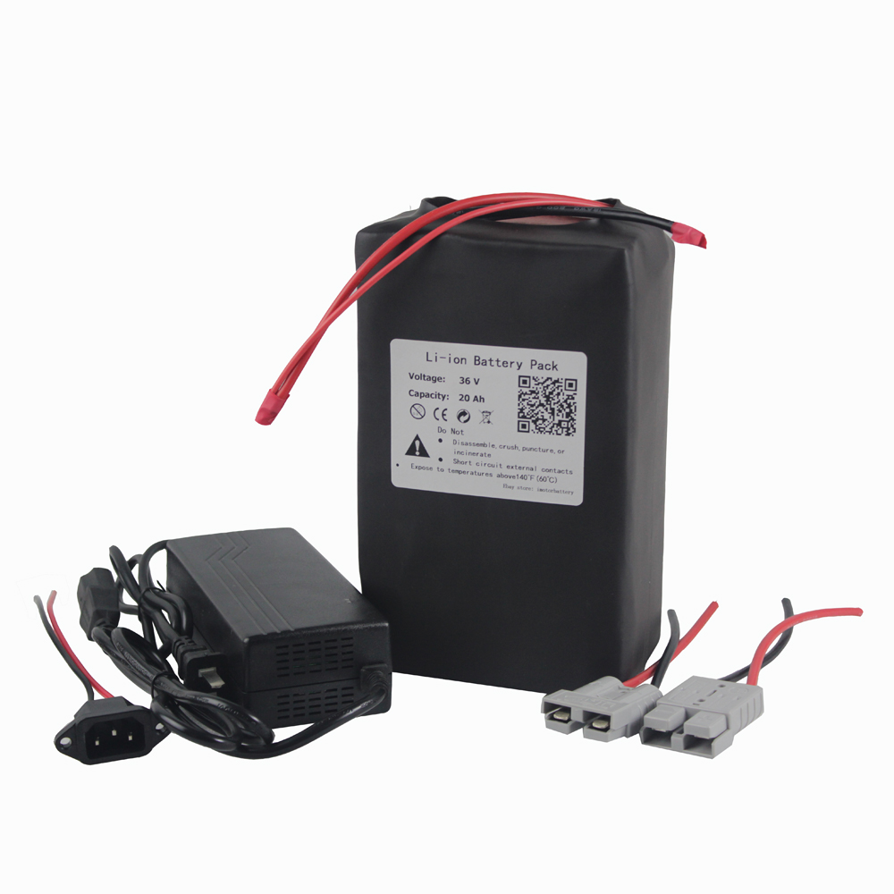 36V 15AH Li-ion Battery Electric Bike Rechargeable Battery Scooters 6A Charger