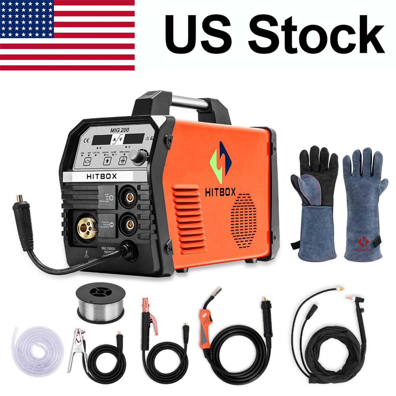 HITBOX 3in1 MIG 220v Welder IGBT Inverter Stick ARC LIGT TIG MIG Welding Machine