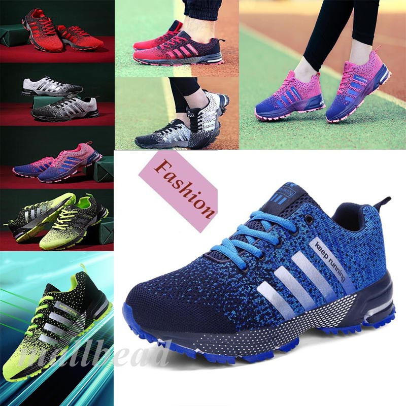Women's Shoes Sports Athletic Outdoor Running Sneakers Breathable Casual Flats