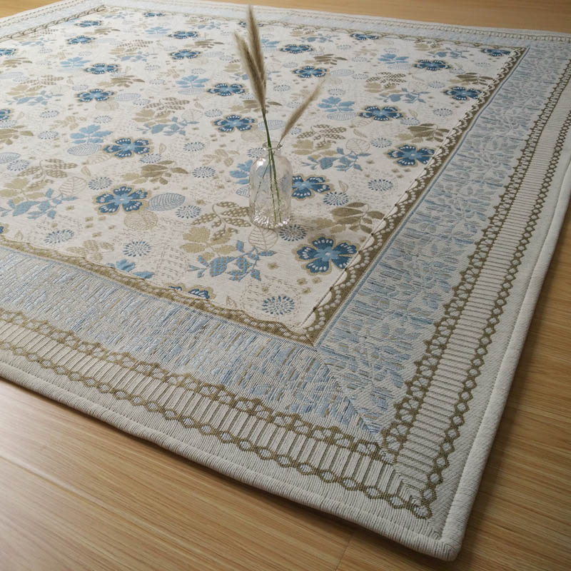 French Country Style Blue Flower Fl