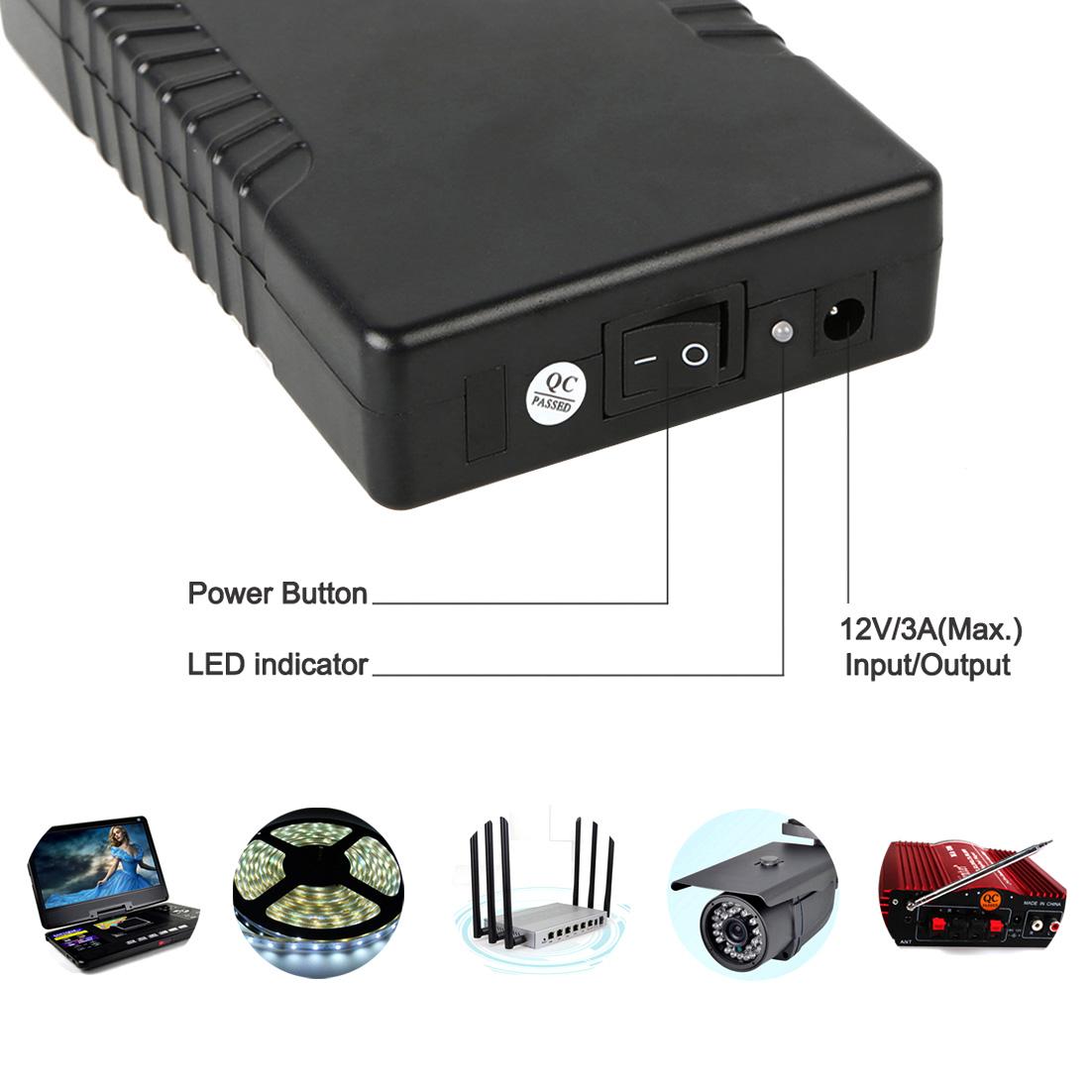 Led Battery Bank Monitor : Hot sale portable v mah li ion power bank battery