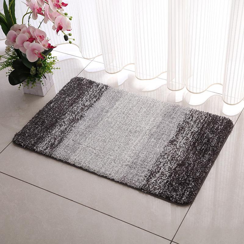 Microfiber Super Soft Non-slip Door Anti-skid Shower Mat Bath Mat ...