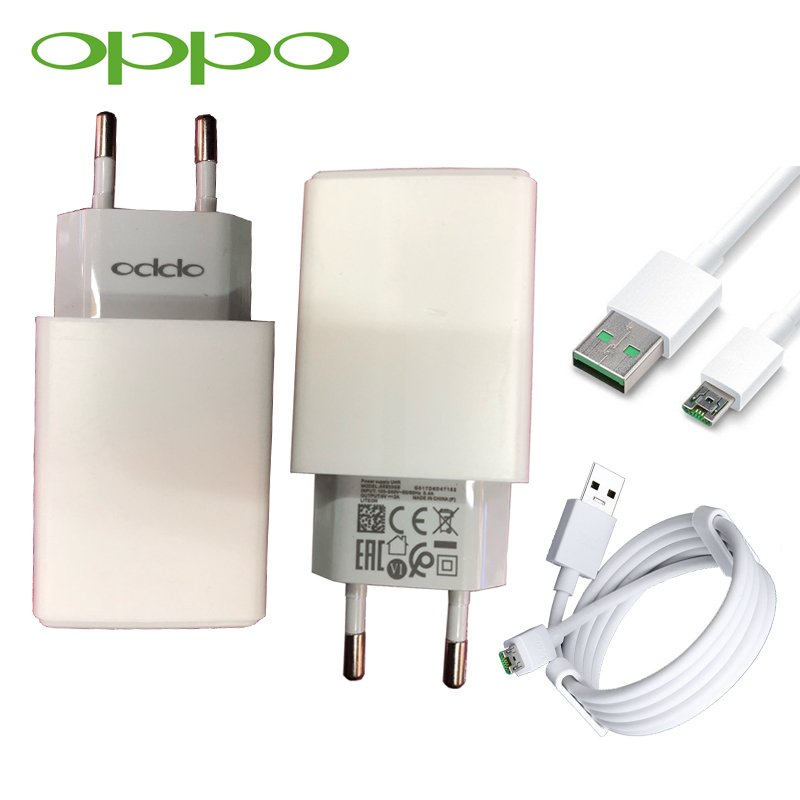 Details about Original OPPO 2A Wall Charger USB Micro Cable For OPPO A1 F7  A73 A83 A59 A77 A57