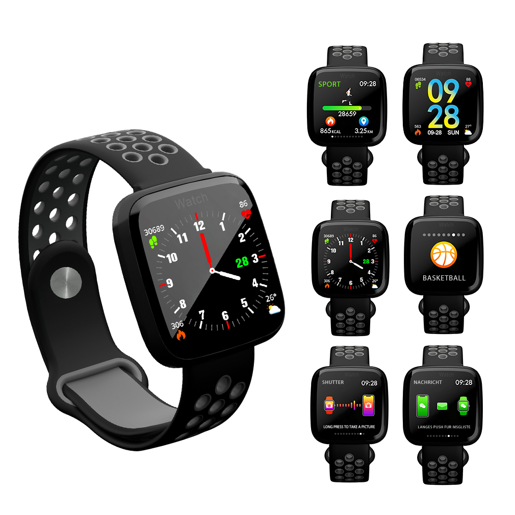 smart armband puls uhr herzfrequenz blutdruck fitness. Black Bedroom Furniture Sets. Home Design Ideas
