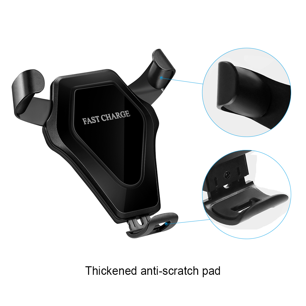wireless charger kfz auto ladeger u00e4t qi induktive ladestation f u00fcr iphone samsung