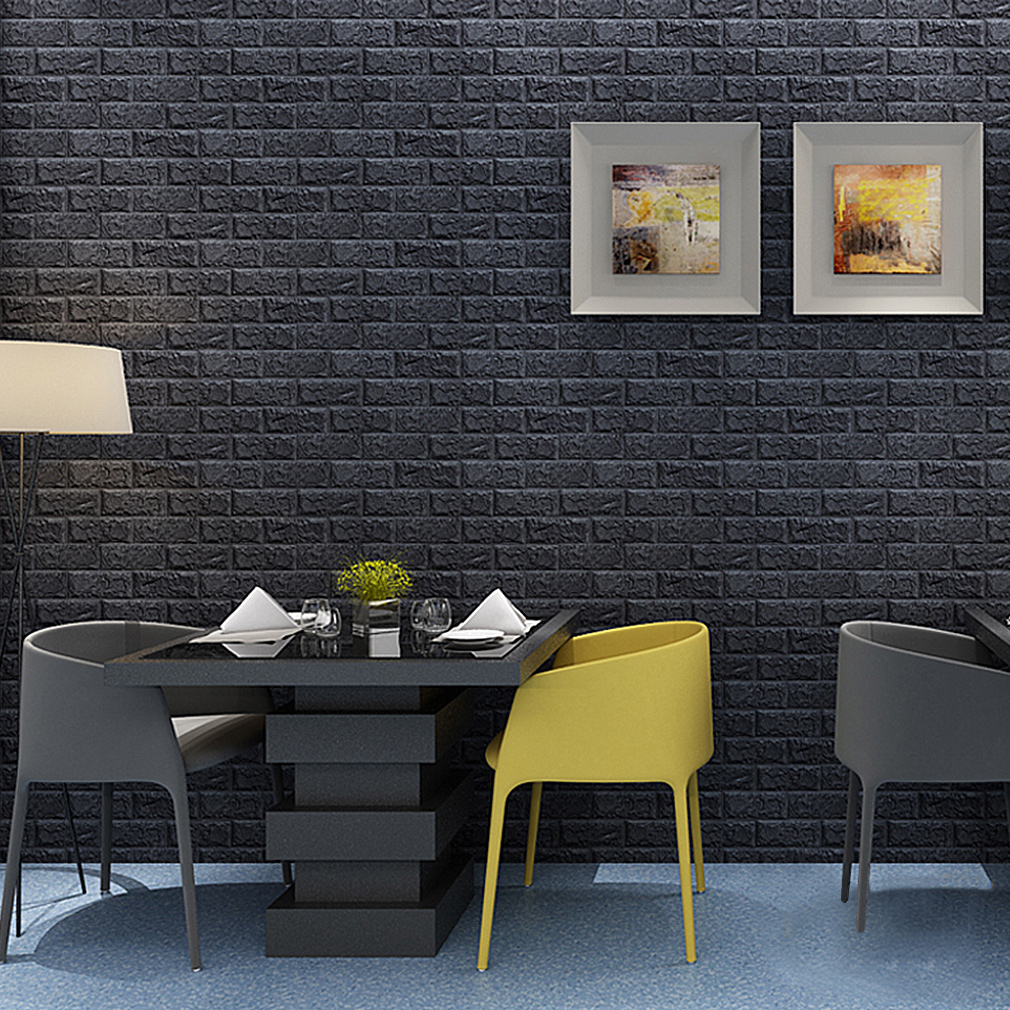 ziegelstein tapete fabulous pcs kinlo d wandpaneele steinoptik x x cm wasserfest ziegelstein. Black Bedroom Furniture Sets. Home Design Ideas