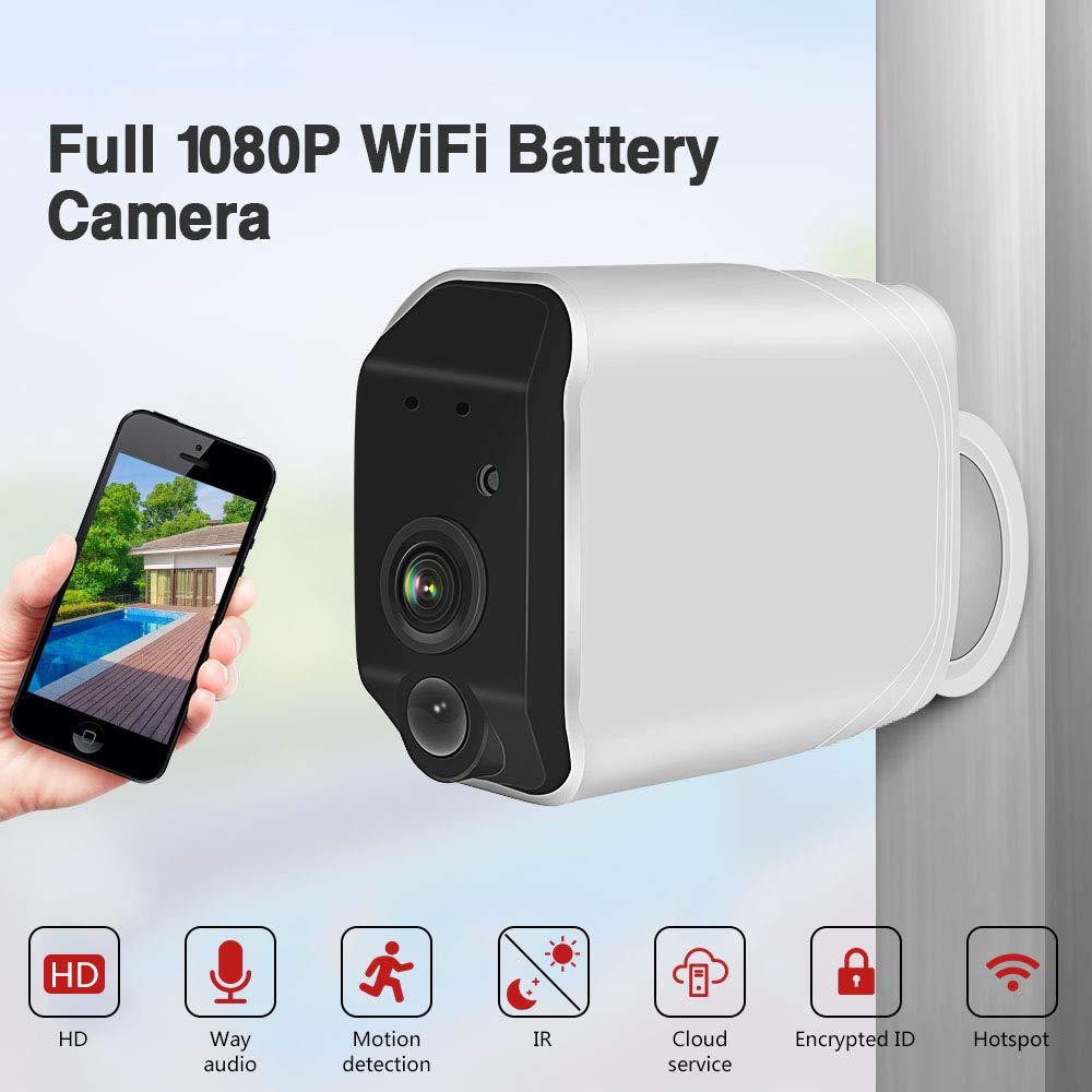 HD1080P//720PIPKameraAußenÜberwachungskameraKabellosWlanCCTVNachtsicht