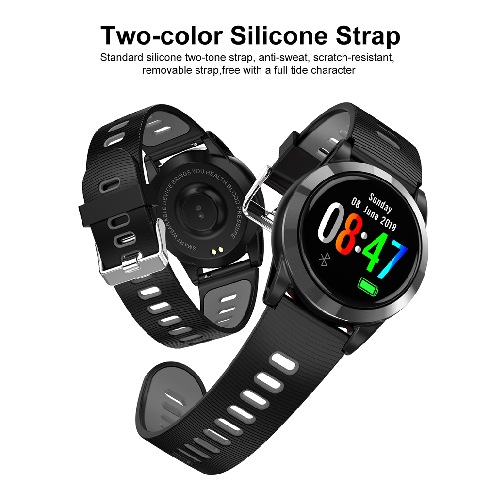 wasserdicht smartwatch armband uhr pulsuhr tracker. Black Bedroom Furniture Sets. Home Design Ideas