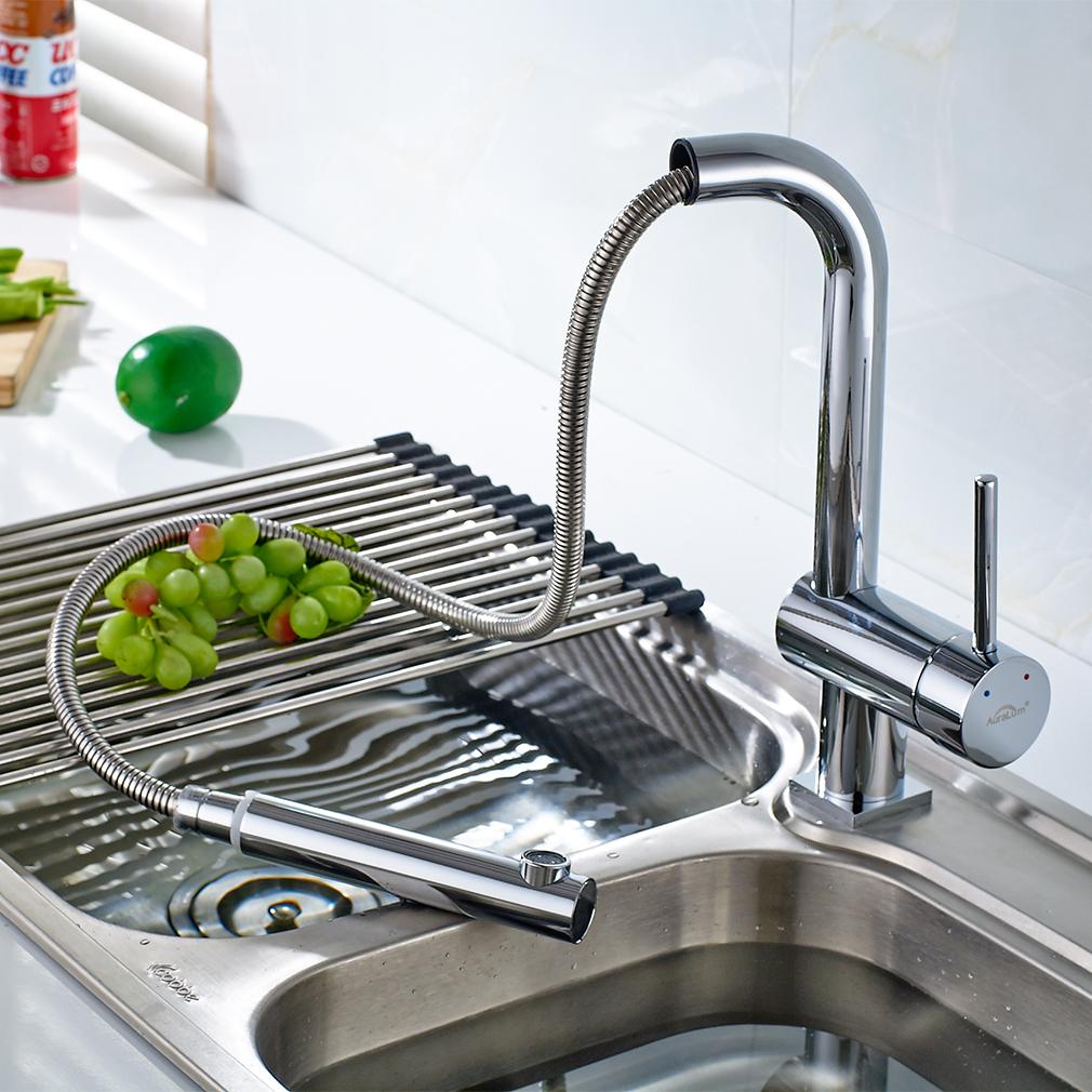 Ausziehbar Küchenarmatur Wasserhahn Einhebelmischer Spültischarmatur ...
