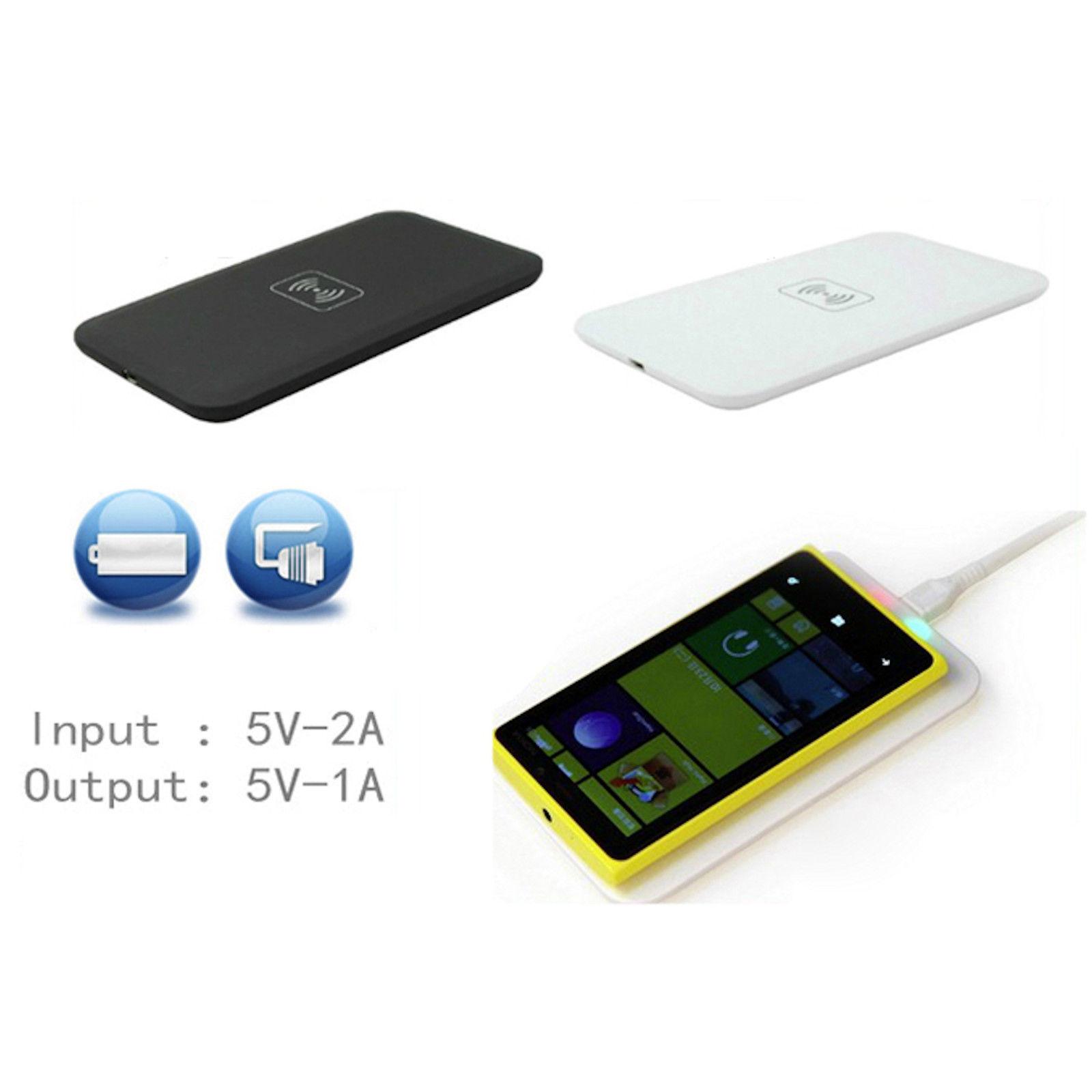 qi wireless ladeger t induktiv ladestation charger samsung galaxy s8 iphone 8 x ebay. Black Bedroom Furniture Sets. Home Design Ideas