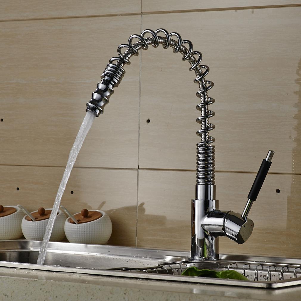 360° Geschirrbrause Wasserhahn Küchenarmatur Einhebelmischer Küche ...