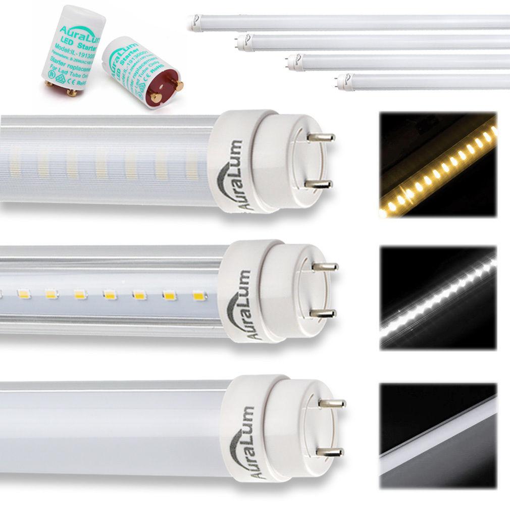 60cm 90cm 120cm 150cm t8 g13 led r hre leuchtstoffr hre rohr tube leuchte licht ebay. Black Bedroom Furniture Sets. Home Design Ideas