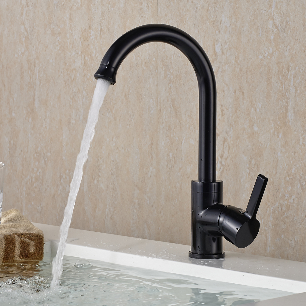 Einhebelmischer Wasserhahn Spültischarmatur Mischbatterie Küche ...