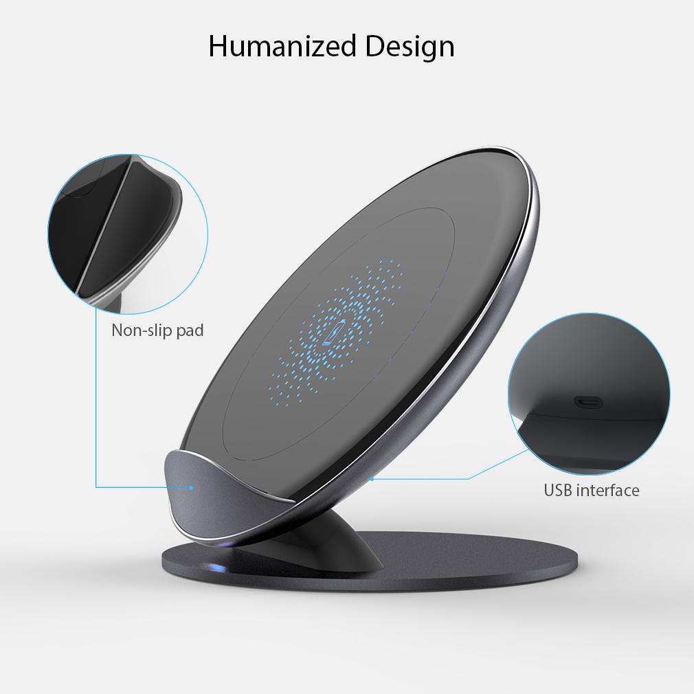 qi wireless induktive schnell ladestation ladeger t. Black Bedroom Furniture Sets. Home Design Ideas