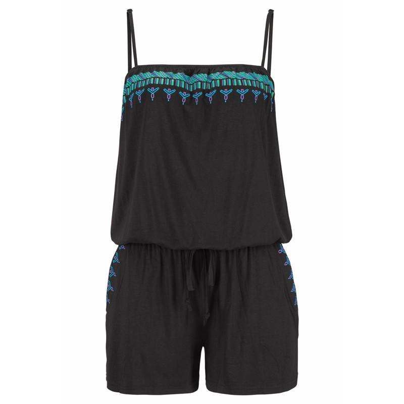 UK Womens Holiday Strap Mini Playsuit Ladies Summer Shorts ...