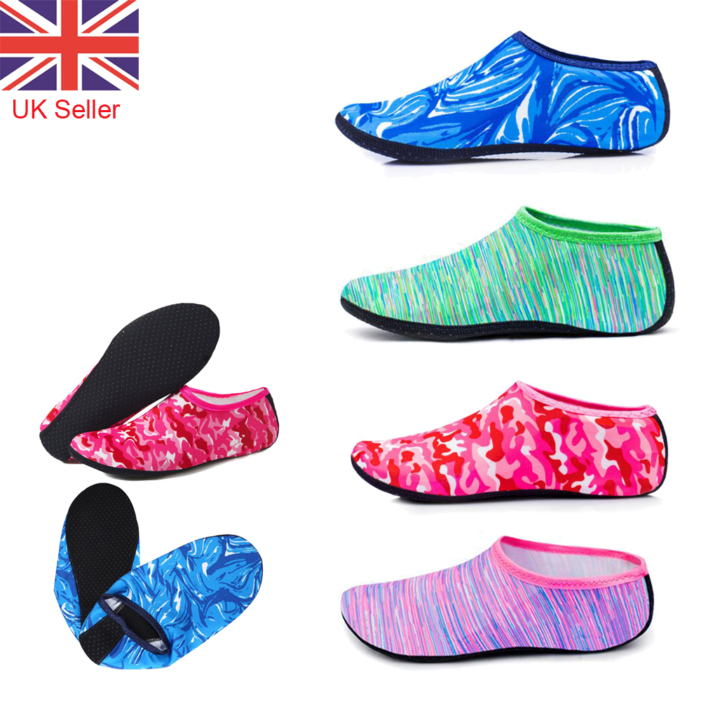 Men Women Water Skin Shoes Aqua Socks Diving Wetsuit Non-slip Swimming Beach HQ
