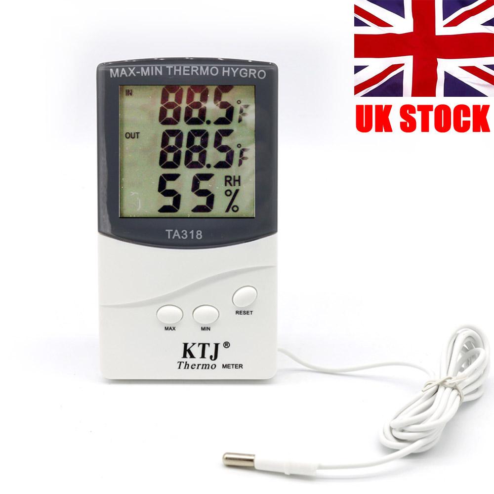 Hot Digital LCD Thermometer Hygrometer Max Min Memory Celsius