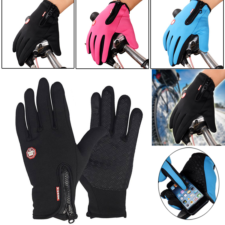 Winter Warm Anti-slip Thermal Touch Screen Work Gloves Riding Climbing Skiing