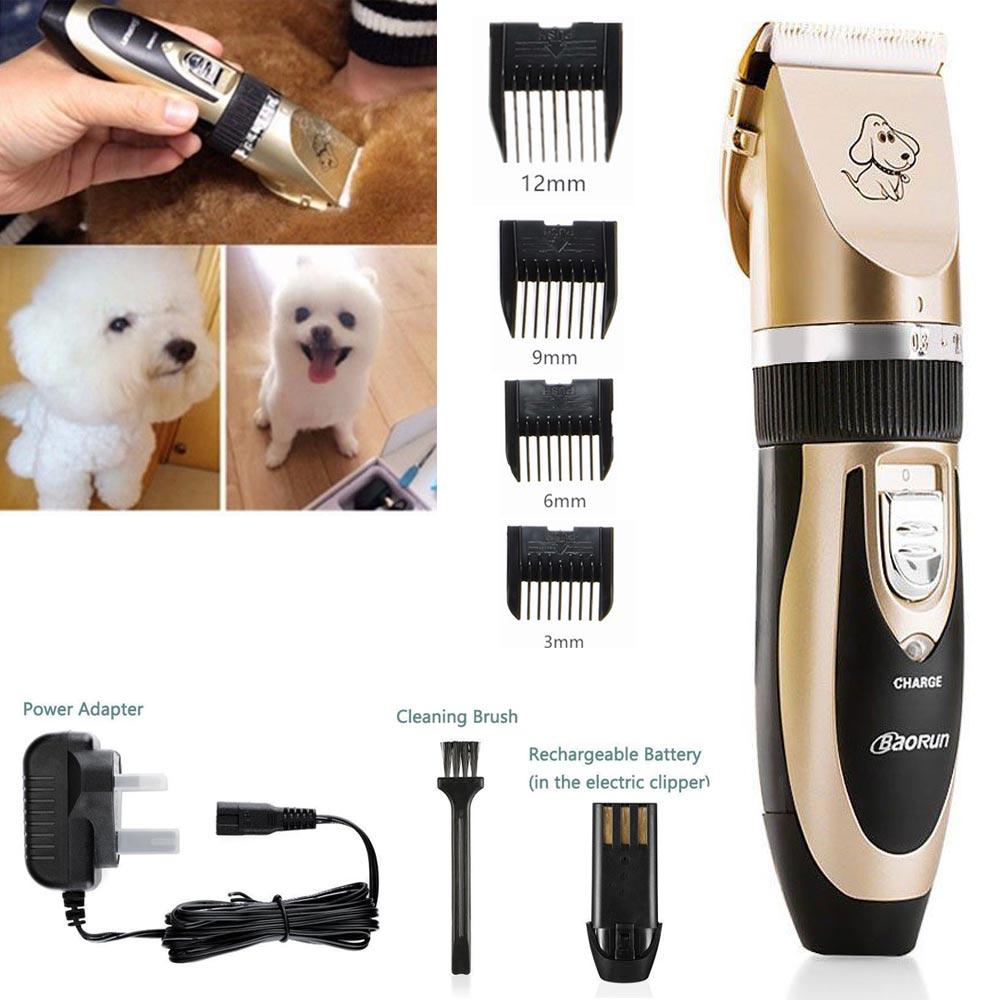 Bajo-Ruido-Electrico-Animal-Mascota-Perro-Gato-pelo-afeitadora-Clipper-Grooming-Trimmer-Shaver