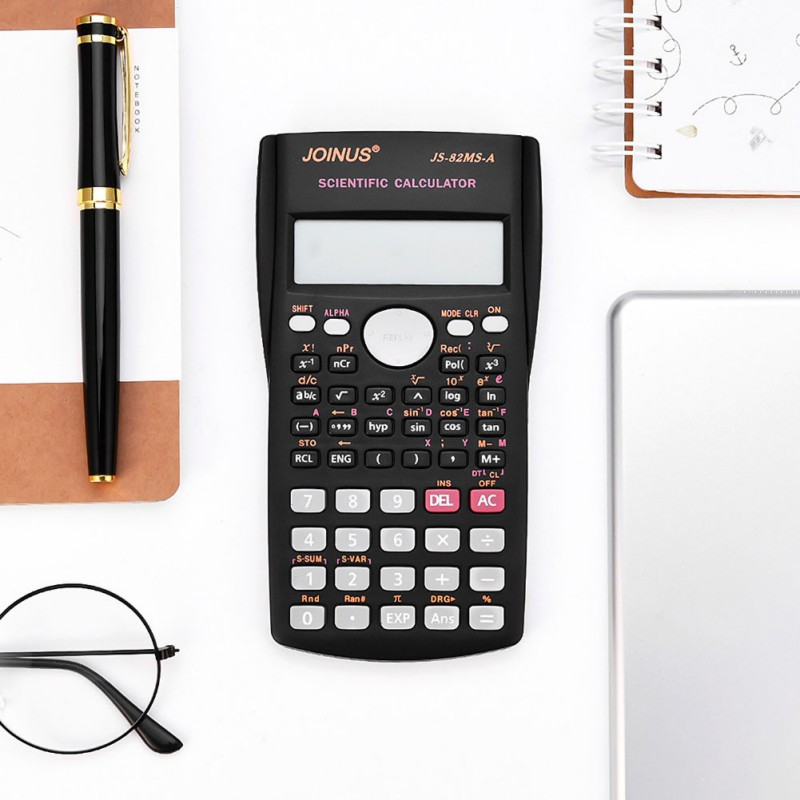 Handheld Scientific Calculator For School Exams Home Office Education Project