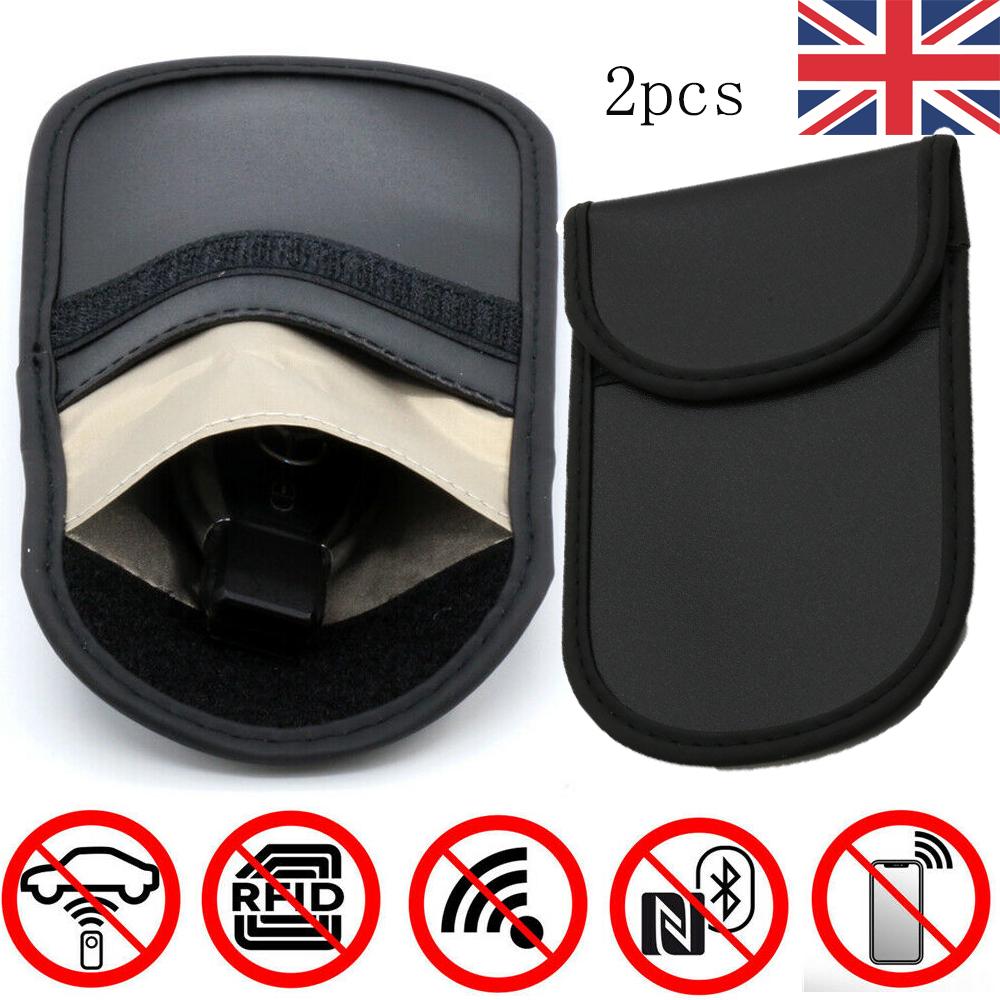 RFID Keyless Car Key Faraday Bag Anti Theft Fraud Entry Signal Blocker Pouch UK