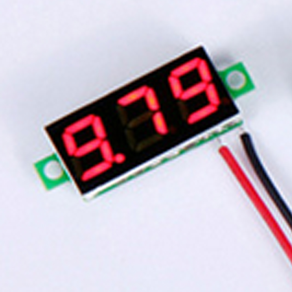 Dc Voltmeters Mini Lcd Digital Voltmeter Volt Meter Gauge Voltage Led