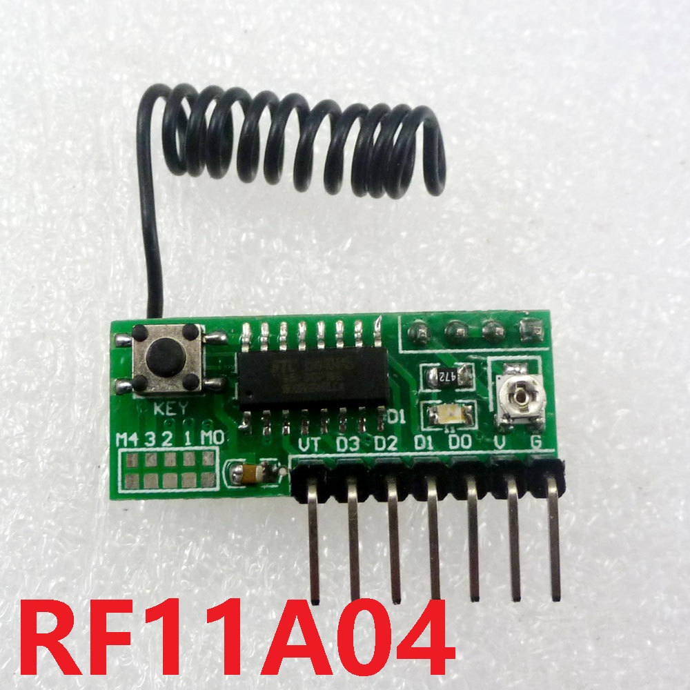 12ch Wireless Transceiver Codec Rf Remote Control Module Sc2262 Controlled Toy Car Circuit With Sc2272 Arduino