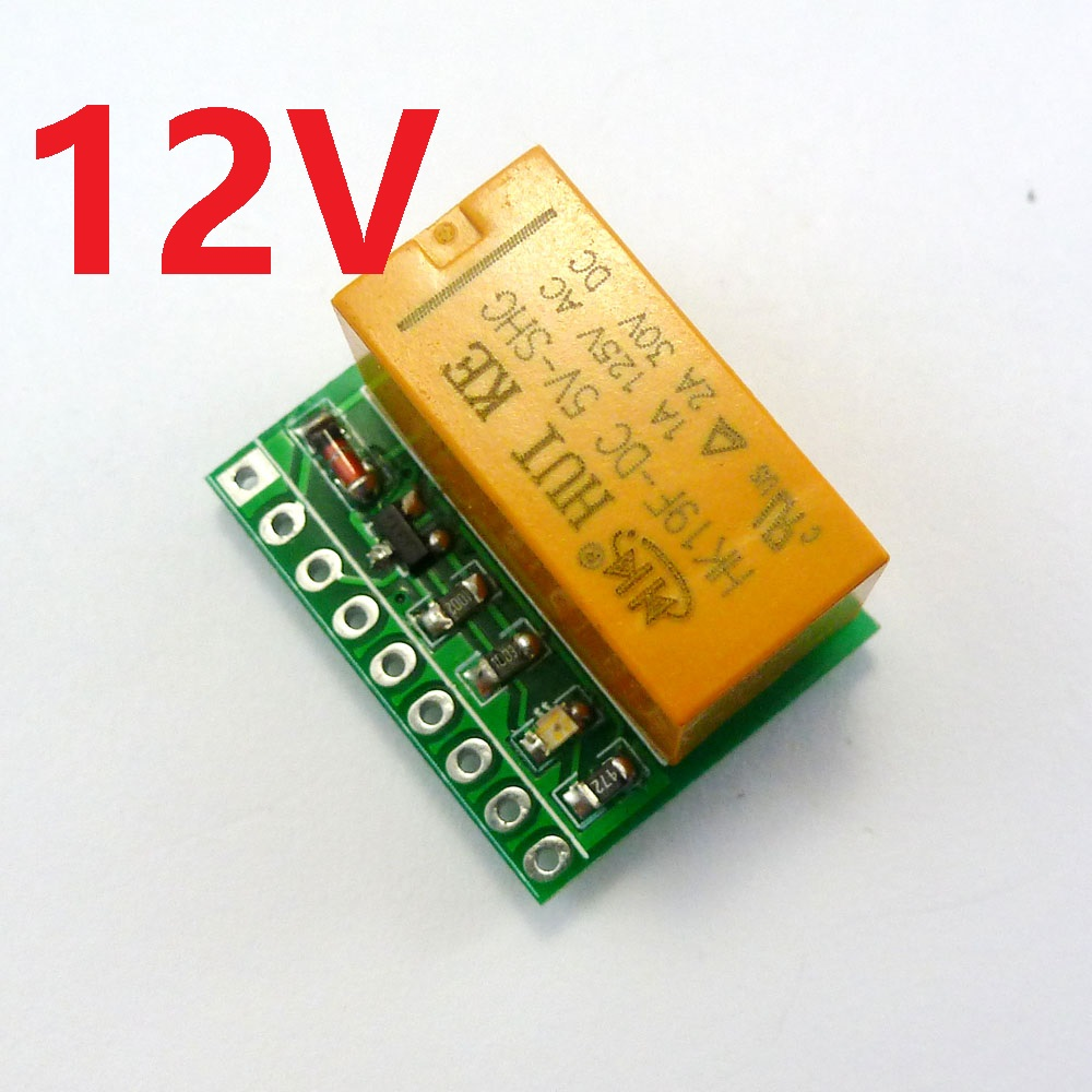 12v 2a Dpdt Relay Board Hk19f Pcb Module For Motor Led Quadcopter Wiring Toy Car Stereo