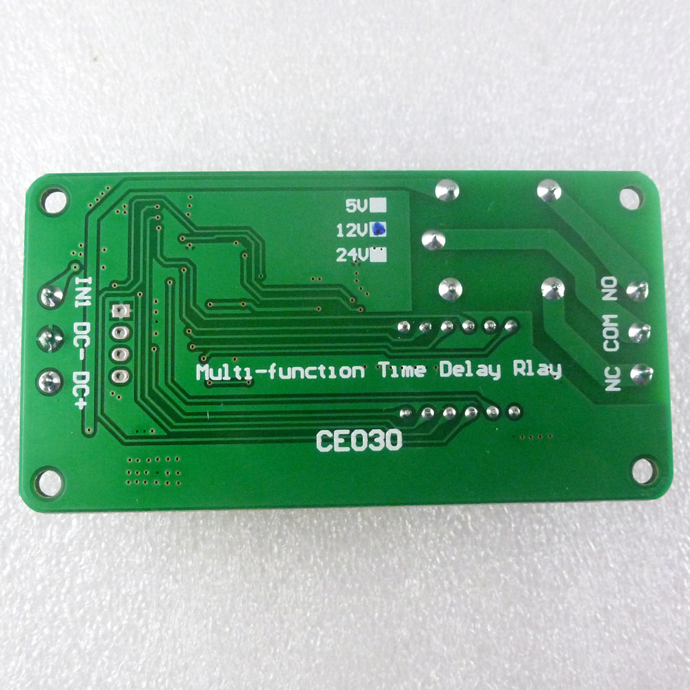 Dc 12v Multifunction Self Lock Relay Plc Cycle Timer Module Delay Electronic Lamp Switch Including Time Option