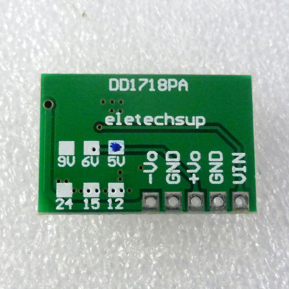 Input 33 8v Output 9v Positive And Negative Power Supply Units Electronic Projects Circuits Module Dc Booster