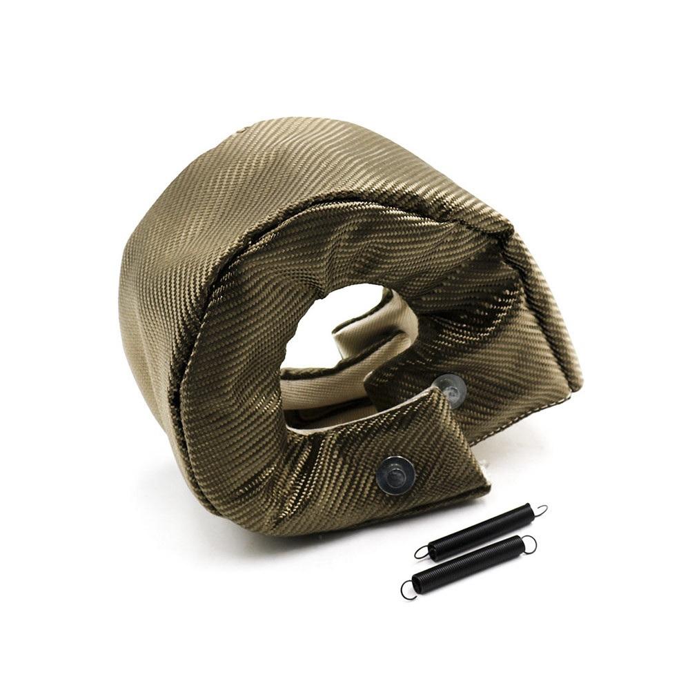 T6 Turbo Blanket Turbine Heat Shield Cover Turbocharger Wrap High Temp titanium