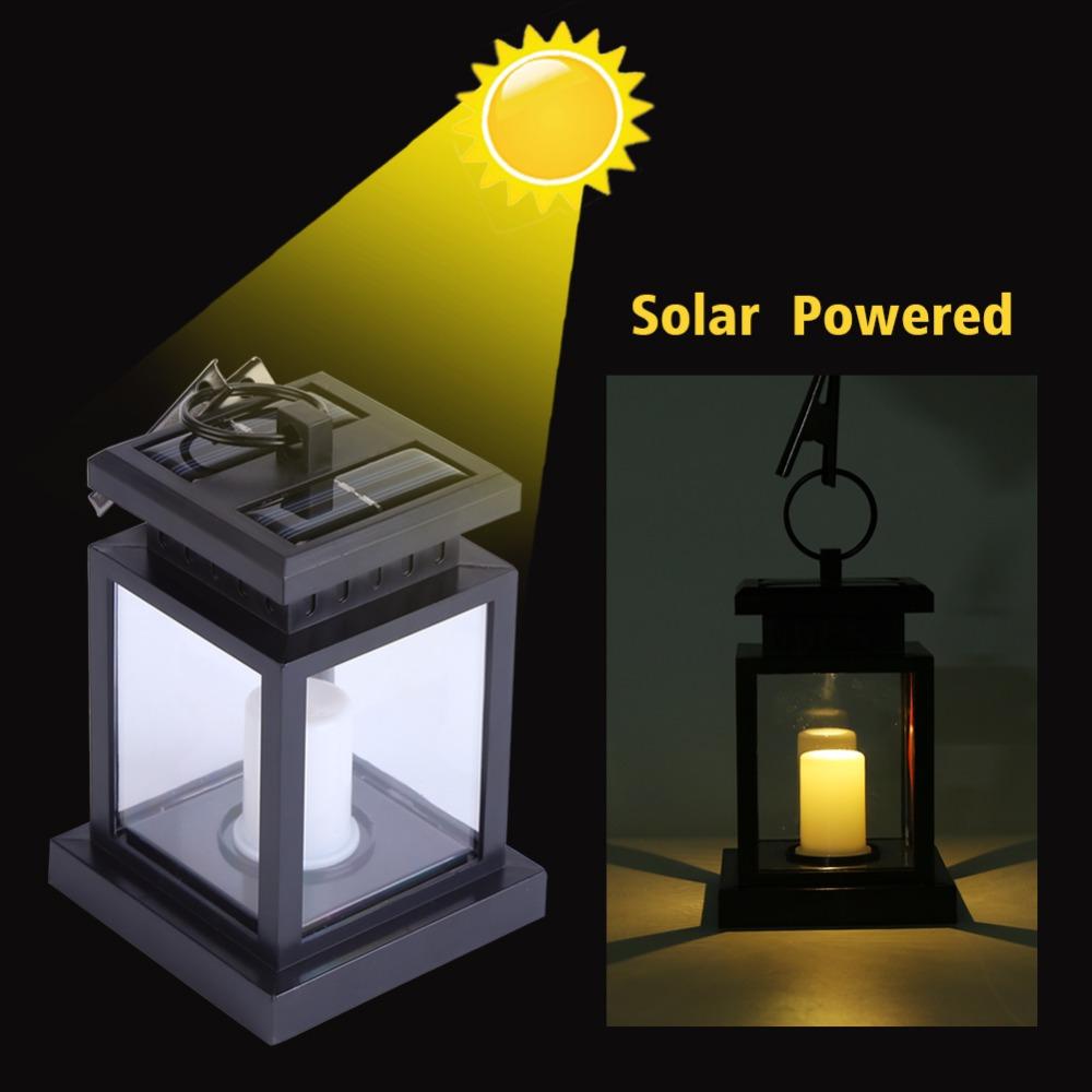 led solar laterne kerze flackerlicht solarleuchte dekolampe gartenleuchte ebay. Black Bedroom Furniture Sets. Home Design Ideas