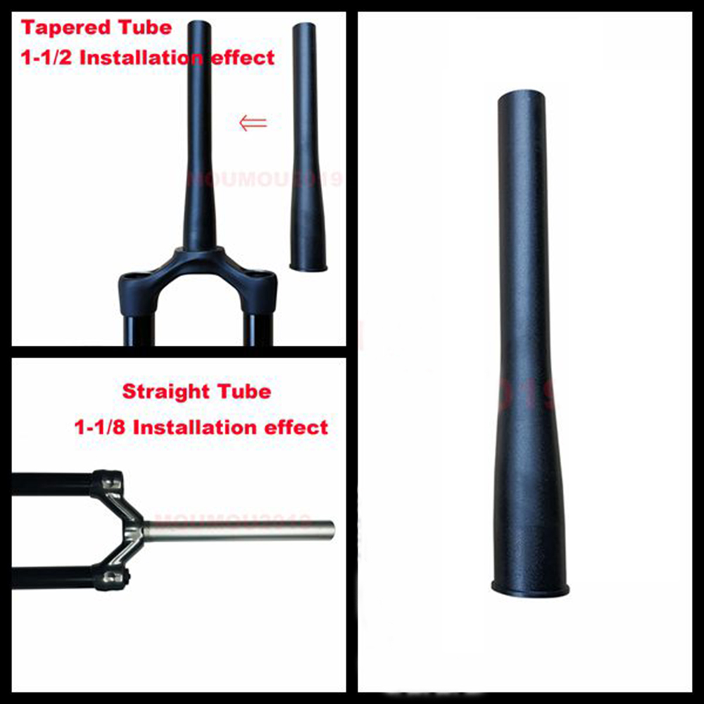 Bicycle Front Fork Head Tube Tapered For Rockshox 1pc Accessories Tube Useful