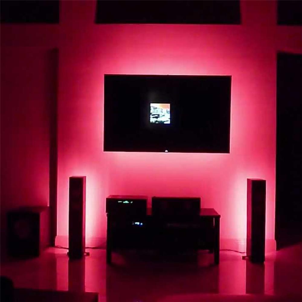 2 Pack 2m656ft Led Tv Usb Backlight Light Kit Computer Rgb Led