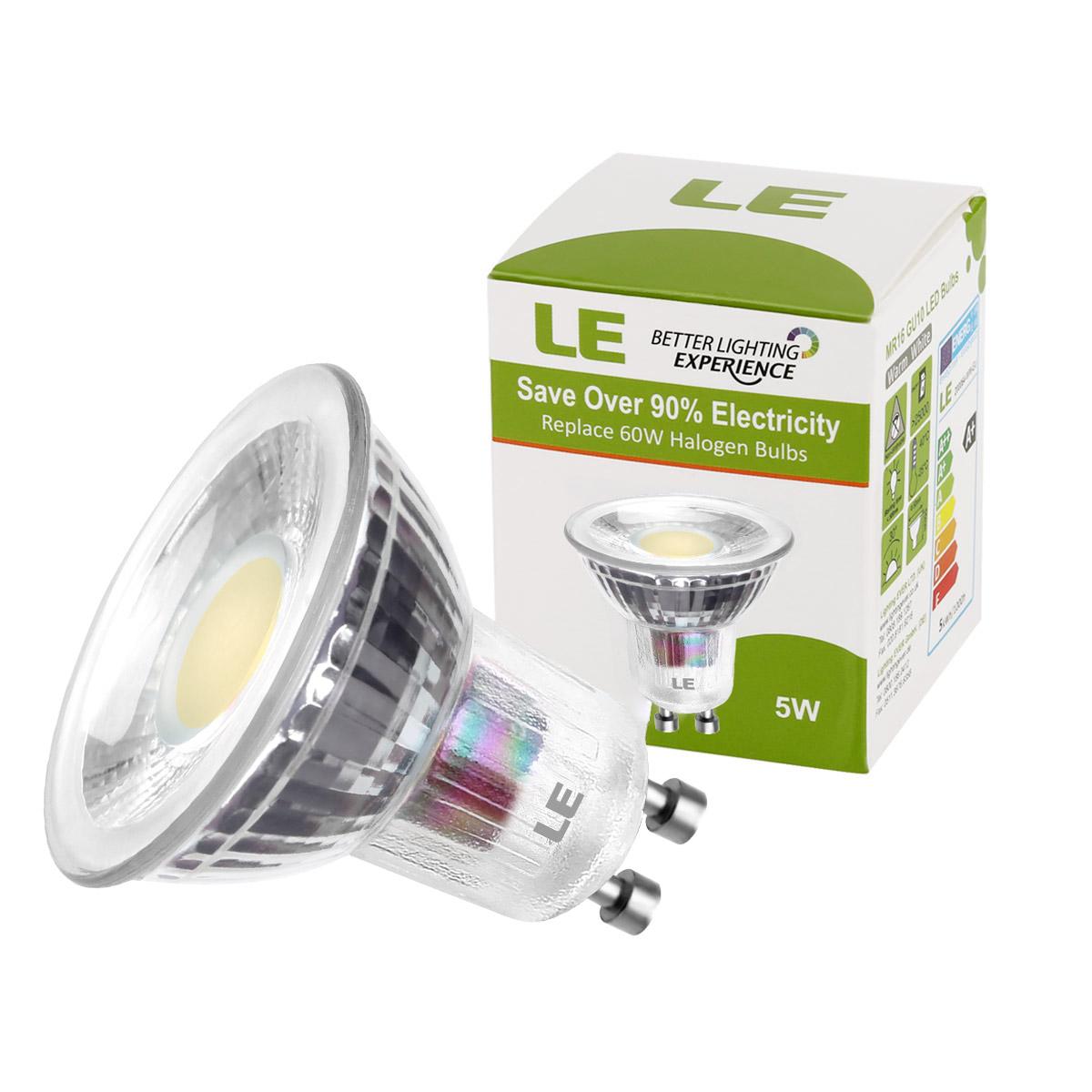le 5er pack 5w gu10 mr16 led birnen 420lm leuchtmittel spot lampe warmwei ebay. Black Bedroom Furniture Sets. Home Design Ideas