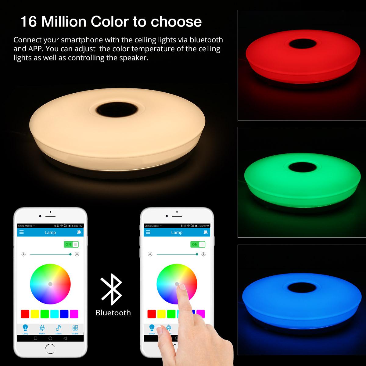 Bluetooth Light Fixture