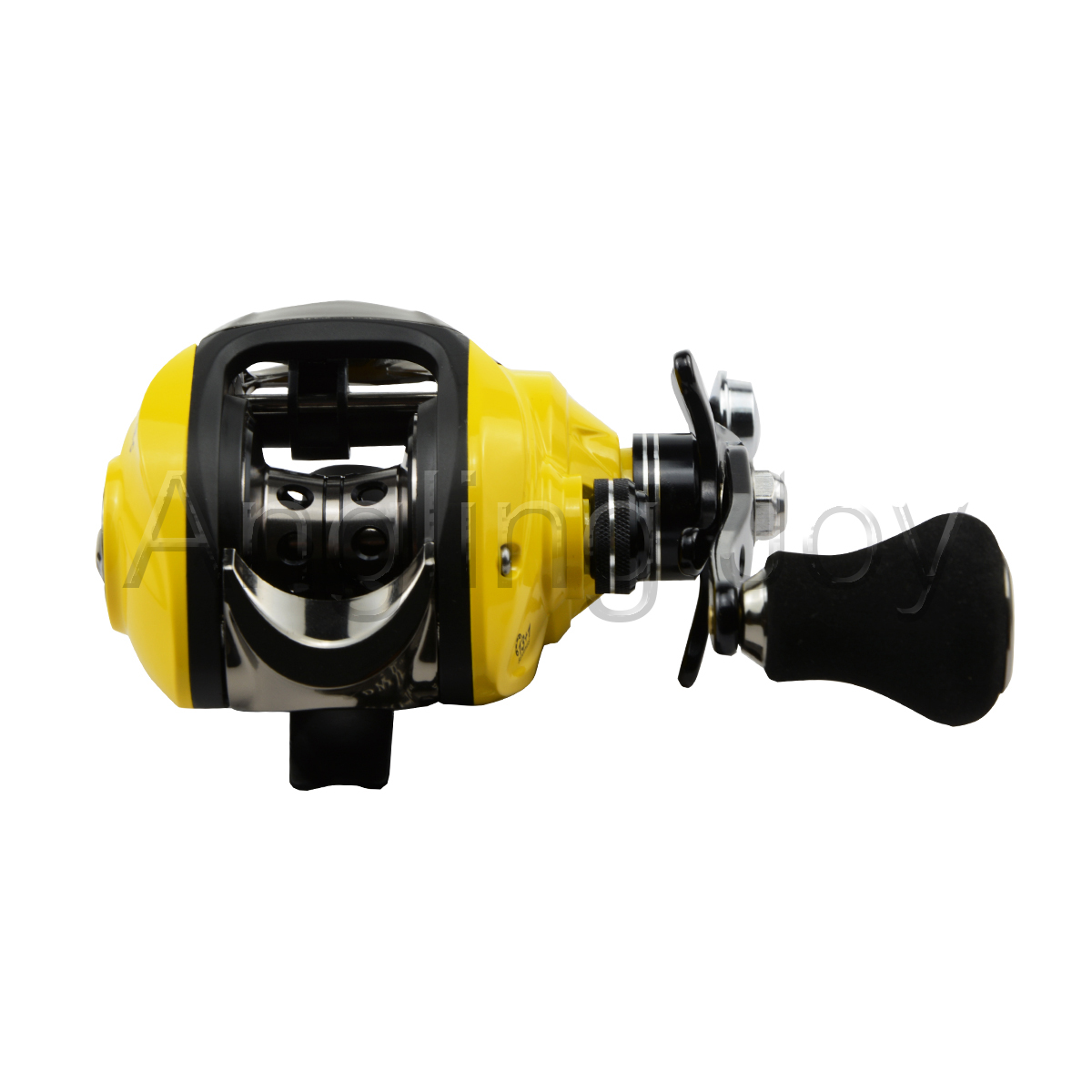 13 Ball Bearings High Speed Single Profile Handle Low Profile Single Baitcasting Fishing Reel d4c0e4